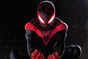 Spiderman Miles Morales Artwork 2018