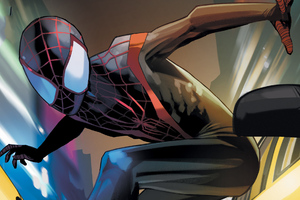 Spiderman Miles Morales Artwork HD