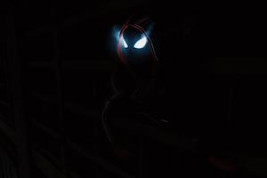 Spiderman Miles Morales Dark 4k Wallpaper