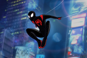 Spiderman Miles Morales Digital Artwork 4k Wallpaper