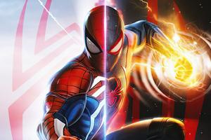 Spiderman Miles Morales Fanart 4k