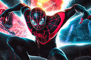 Spiderman Miles Morales Insomniac Games Wallpaper