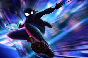 Spiderman Miles Morales Jump 5k