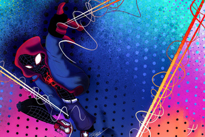 Spiderman Miles Morales New Arts