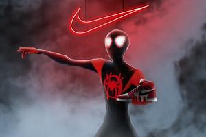 Spiderman Miles Morales Nike Air Jordan