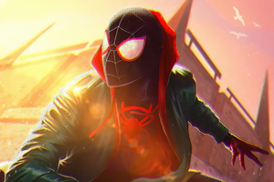 Spiderman Miles Morales PS5 Video Game 4k Wallpaper