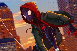 Spiderman Miles Morales Spider Verse