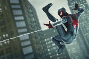 Spiderman Miles Morales Web Shooter 4k