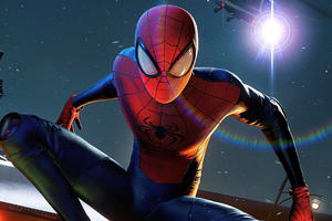 Spiderman Miles Thrilling 4k Wallpaper