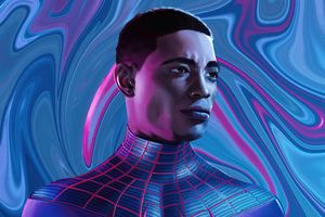 SpiderMan MilesMorales Fanart 4k Wallpaper