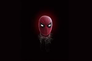 Spiderman Minimal Art 4k