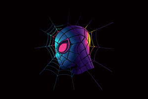 Spiderman Minimal Artwork Wallpaper