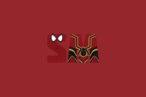 Spiderman Minimalism Avengers Infinity War 5k Wallpaper