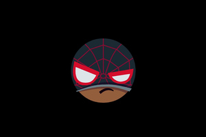 Spiderman Mood Off Minimal 5k Wallpaper
