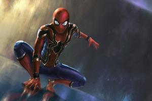 Spiderman New 4k Art