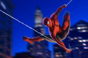 Spiderman New Art HD
