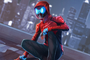 Spiderman Night Mask 5k Wallpaper
