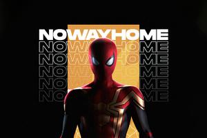Spiderman No Way Home Minimal Dark 5k
