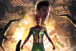 Spiderman No Way Home Movie 2021 5k Wallpaper