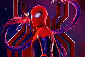 Spiderman No Way Home Movie Poster 5k
