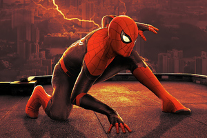 Spiderman No Way Home Poster 4k