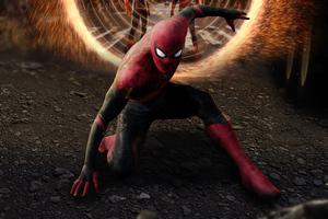 Spiderman No Way Home Poster Art 4k Wallpaper