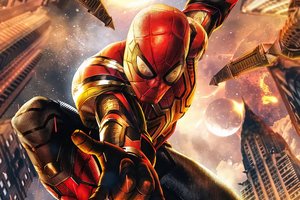 Spiderman No Wayhome 5k Wallpaper