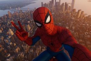 Spiderman NYC Skyscraper