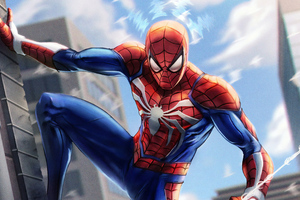Spiderman Paint Art