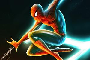 Spiderman Park Wallpaper