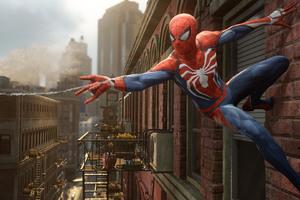 Spiderman PS4 2016 Game Wallpaper