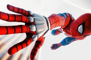 Spiderman Ps4 Advanced Suit 4k