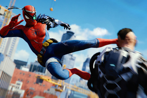 Spiderman Ps4 Attack 4k