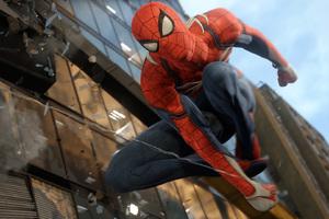 Spiderman PS4 Wallpaper