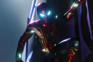 Spiderman PS4 Iron Spider Suit