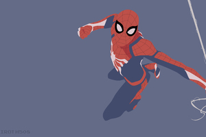 SpiderMan PS4 Minimalist