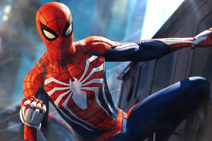 Spiderman PS4 Pro Video Game 4k