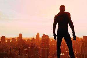 Spiderman Ps4 Skyline 4k