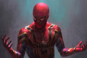 Spiderman Red Suit Wallpaper