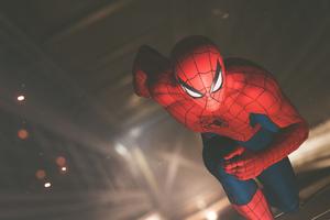Spiderman Running