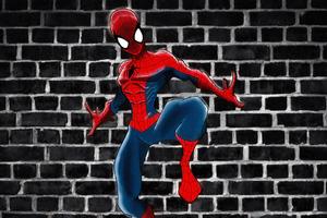 Spiderman Sketch Artwork