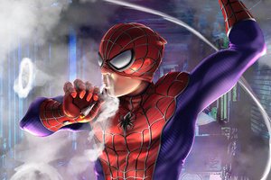 Spiderman Smoker Wallpaper