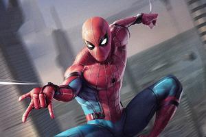 Spiderman Spider Web