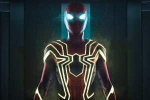 Spiderman Stark Suit