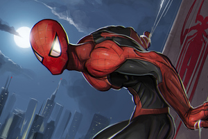 Spiderman Superhero Art