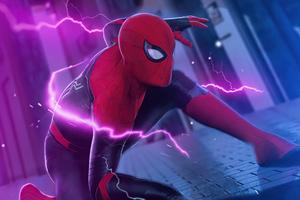 Spiderman Surreal Wallpaper