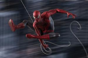 Spiderman Swing 5k Wallpaper