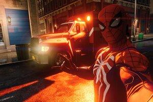 Spiderman Taking Selfie Ps4 2018 4k