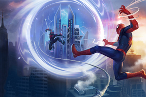 SpiderMan Unlimited IIlustration