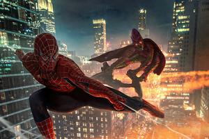 Spiderman V Goblin 4k Wallpaper